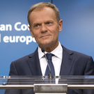 European Council President Donald Tusk Photo: Virginia Mayo/AP/PA