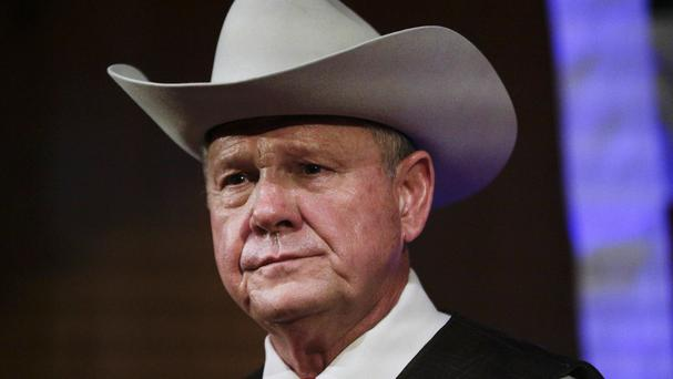 Roy Moore is contesting a race in Alabama (AP)