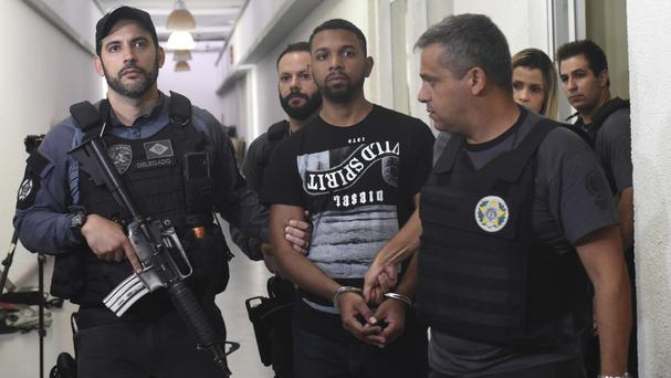 Drug boss 'Rogerio 157' captured in Rio slum