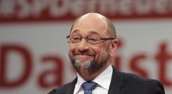 Social Democratic Party chairman Martin Schulz hopes to hold talks next week
