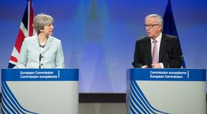 Brexit talks will now move onto phase two after an agreement.