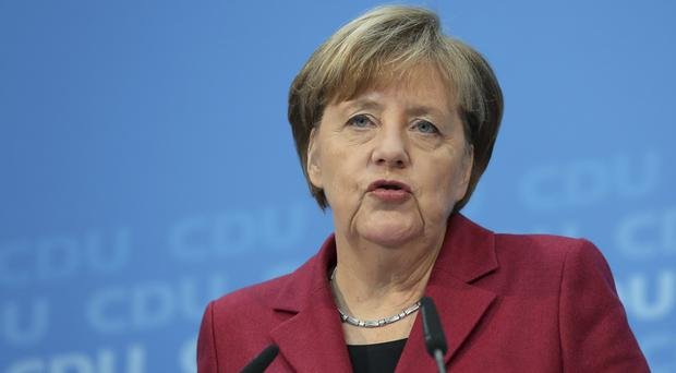Angela Merkel noted it was an important time for Europe (AP)