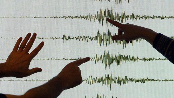 Library pictures of seismologists at work