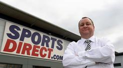 Sports Direct founder Mike Ashley (PA)