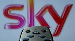A picture of a Sky HD TV remote control as Disney and 21st Century Fox reach a deal (Chris Radburn/PA)