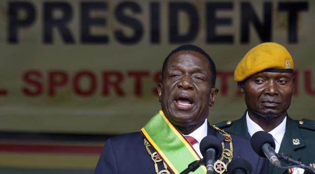 Zimbabwe's new leader wants sanctions lifted