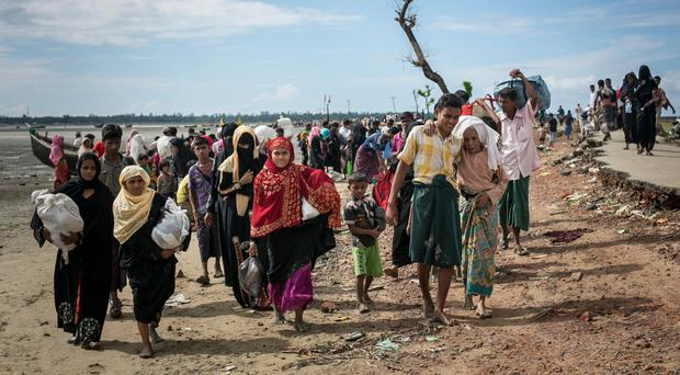 Death toll of Rohingya in Myanmar was 6,700 in first month