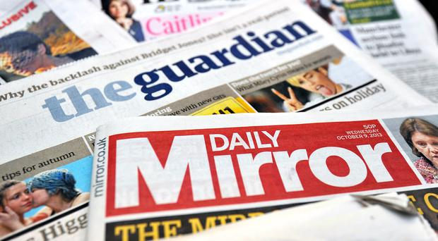 Daily Mirror owner presses ahead with Express takeover as revenues fall