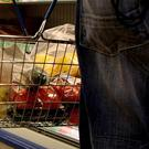 A person shopping in a convenience store (PA)
