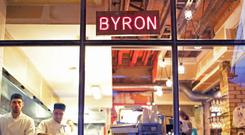 A Byron restaurant in Islington, north London (PA)