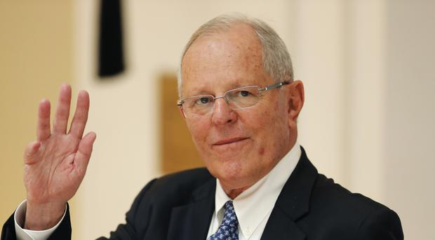 President Pedro Pablo Kuczynski is facing impeachment proceedings (AP)