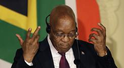 Jacob Zuma's presidency has been mired in scandal and corruption allegations (AP Photo/Themba Hadebe, File)