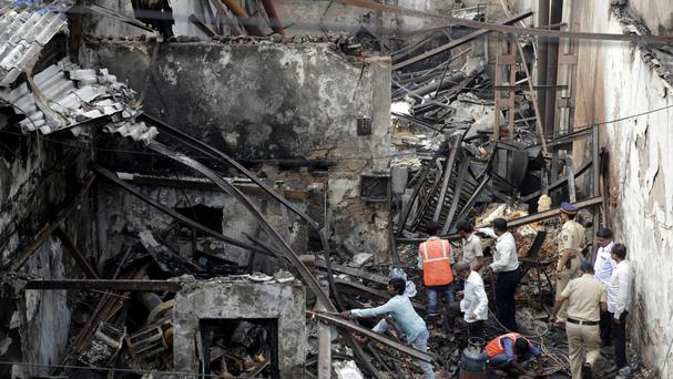 12 dead as fire breaks out in Mumbai shop, many feared trapped