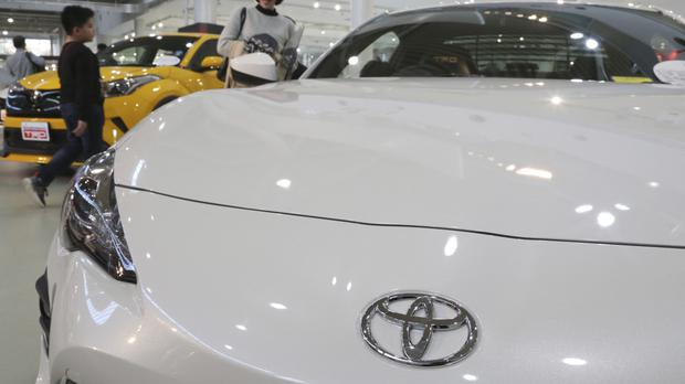 'Toyota is certainly immersing itself quite dramatically in the electric car race' (AP Photo/Koji Sasahara)