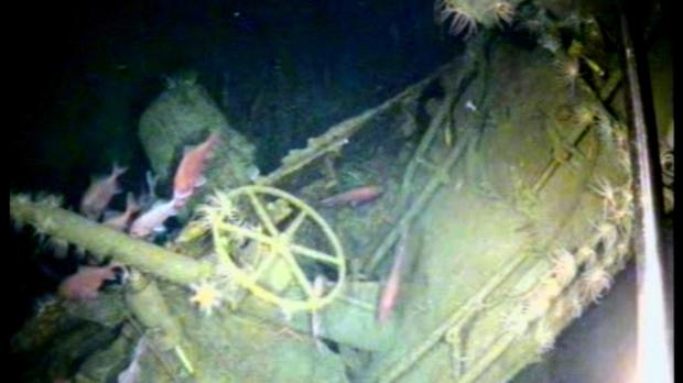 The wreck of Australia's first submarine has been discovered more than 103 years after its disappearance in the First World War (Australian Department of Defence via AP)