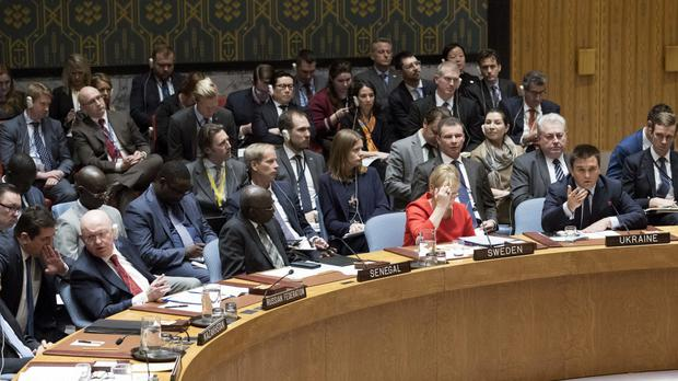 The UN Security Council voted for new North Korea sanctions (AP Photo/Mary Altaffer)