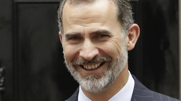 King Felipe VI addressed Catalonian independence in his Christmas Eve speech (AP)