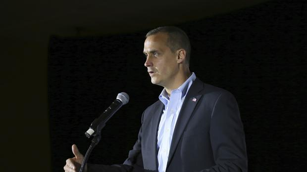 Corey Lewandowski is the US president's former campaign manager (AP)