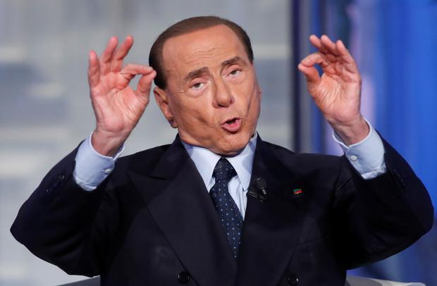 Billionaire Silvio Berlusconi has fired the opening shots in the election campaign