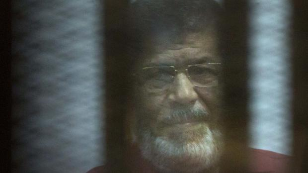 Former Egyptian president Mohammed Morsi was jailed for three years for insulting the judiciary (AP Photo/Amr Nabil, File)