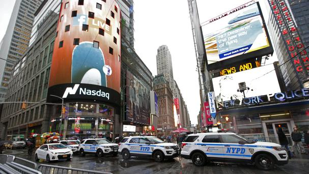 Times Square will get permanent protective barriers