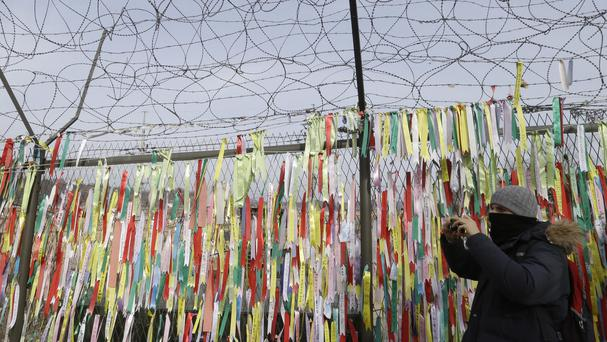 North and South Korea will meet for talks at the border village of Panmunjom, in Paju, South Korea (AP Photo/Ahn Young-joon)