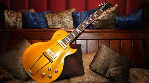 A 1952 Gibson Les Paul guitar (Lewis Whyld/PA)