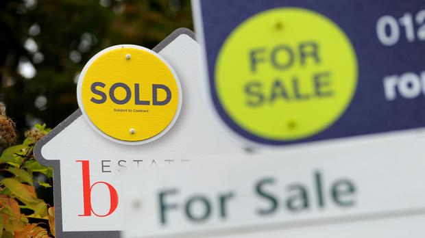 Property prices are being slashed on some homes, according to research for The Times (Andrew Matthews/PA)