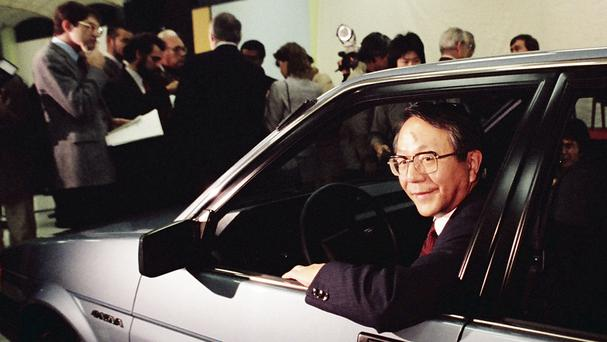 Tatsuro Toyoda steered the firm to international heights (AP)
