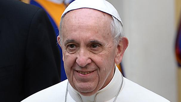 Pope Francis baptised 34 babies in the Sistine Chapel