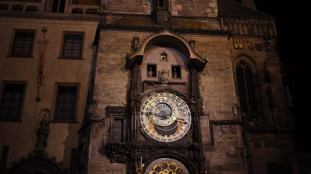 The clock was first installed in 1410