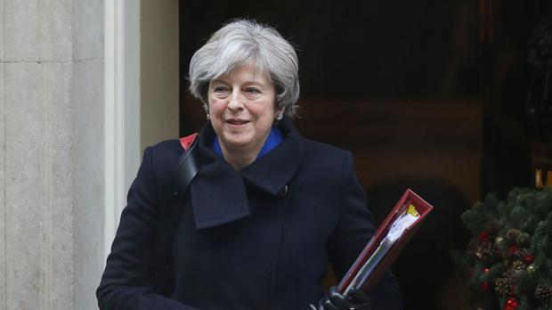 Theresa May is set to meet a group of financial services firms on Thursday (Philip Toscano/PA)
