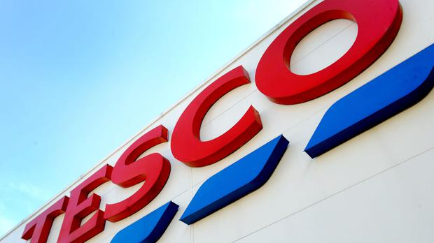 Tesco reported on Christmas trading on Thursday (PA)