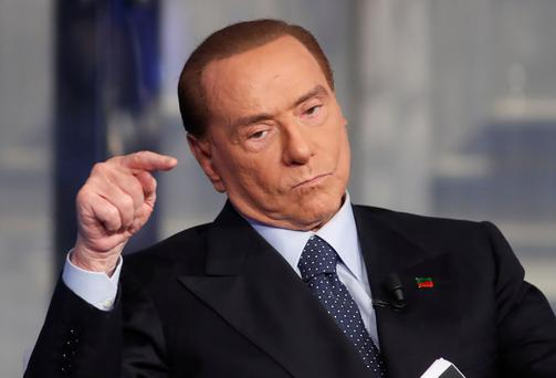 'No expert': Silvio Berlusconi Photo: Reuters