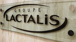 Salmonella bacteria was discovered at the Lactalis factory in Craon in December (AP Photo/Francois Mori)