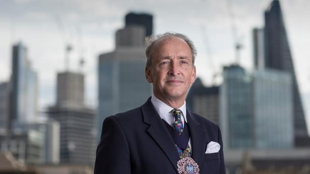 Charles Bowman is Lord Mayor of the City of London (City of LondonCorporation/PA)