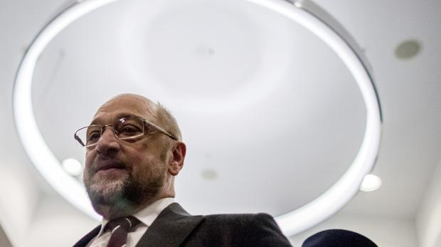 The chairman of the Social Democratic Party, Martin Schulz (AP)