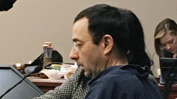 Larry Nassar is expected to be sentenced on Friday (AP)