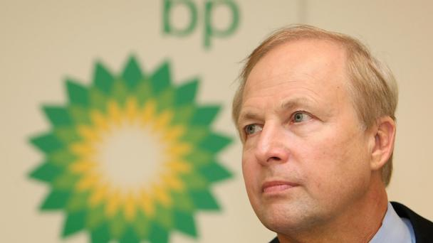 BP shares dragged on the FTSE 100 (PA)