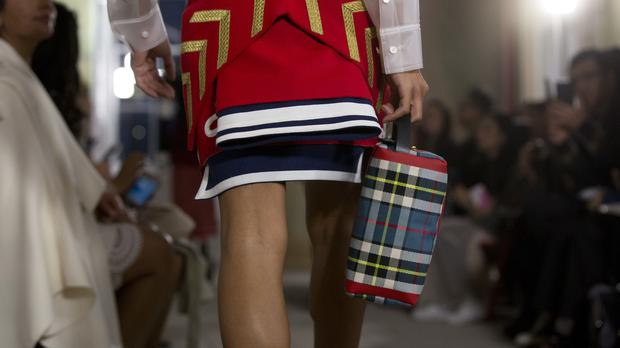 Burberry has reported a fall in UK sales (Isabel Infantes/PA)