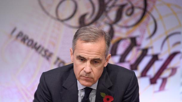 Mark Carney is Governor of the Bank of England (Stefan Rousseau/PA)