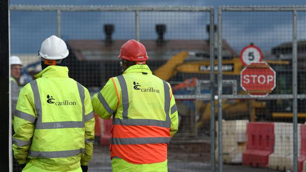 Payments to Carillion executives have ceased (PA)