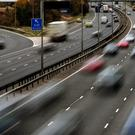 Cars on a motorway, as insurer esure announces hunt for new CEO (PA)