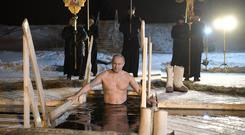 Russia Orthodox Epiphany