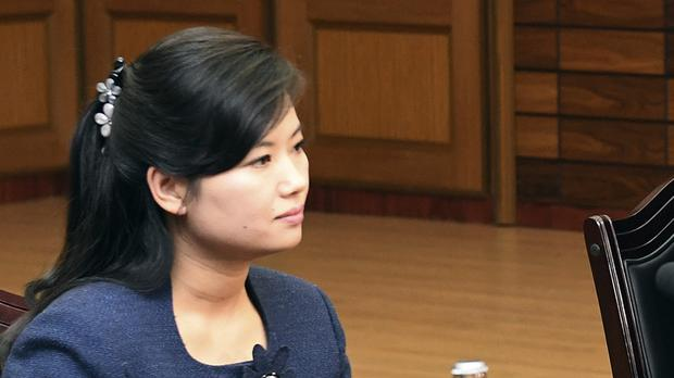 Ms Hyon sparked intense media interest (AP)