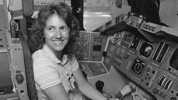 Christa McAuliffe died in the disaster in January 1986 (AP)
