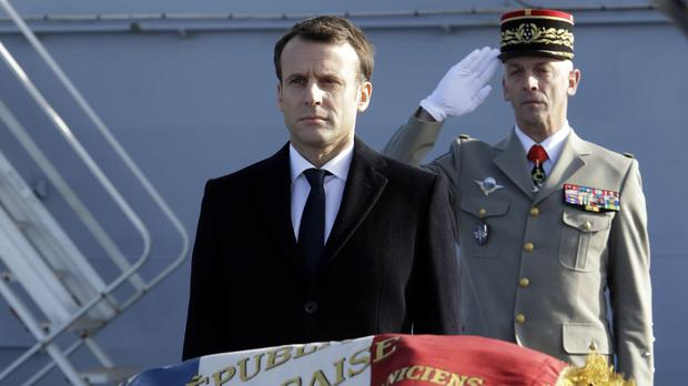 Emmanuel Macron wants to boost France's military engagement abroad (AP)