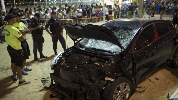 The driver claimed he has epilepsy (AP)