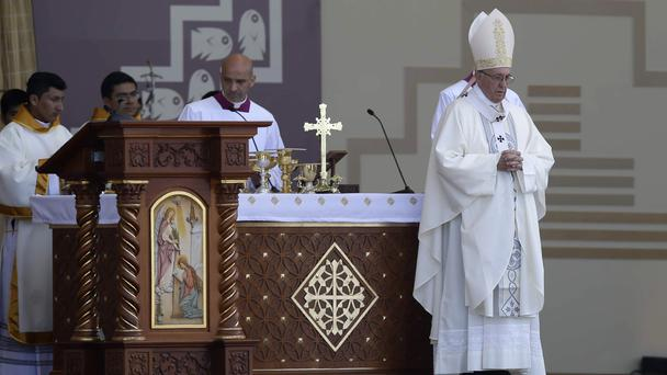 The statement is an implicit criticism of the pontiff's remarks (AP)