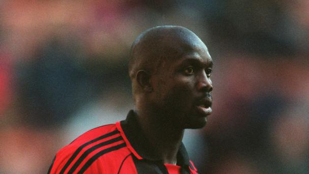 George Weah in his playing days (Empics/PA)
